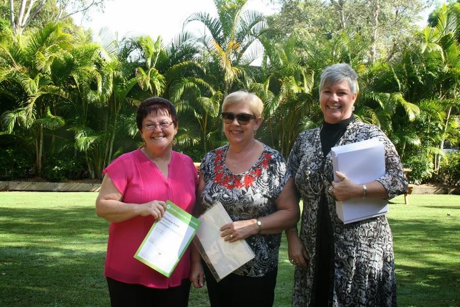 Aged Care Training STEPS Sunshine Coast graduation