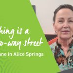 Teaching is a two-way street for Anne in Alice Springs