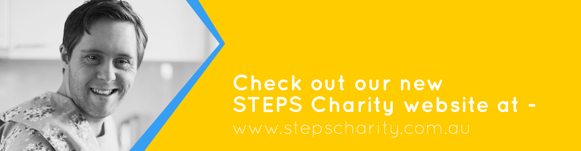 Check out our new STEPS Charity site